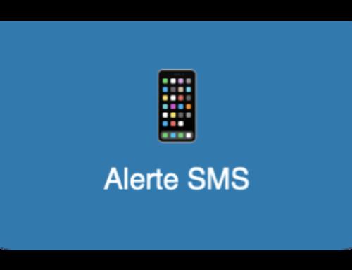 Alerte SMS