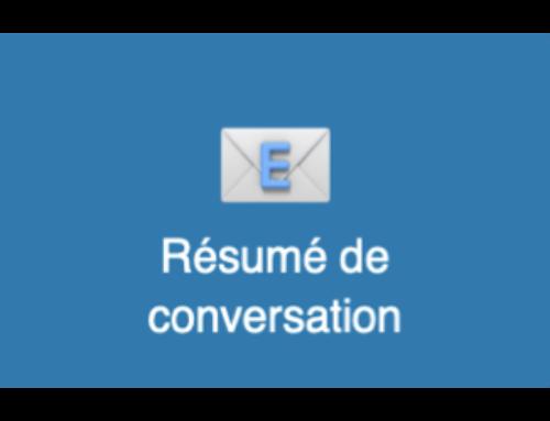 Résumé de conversation